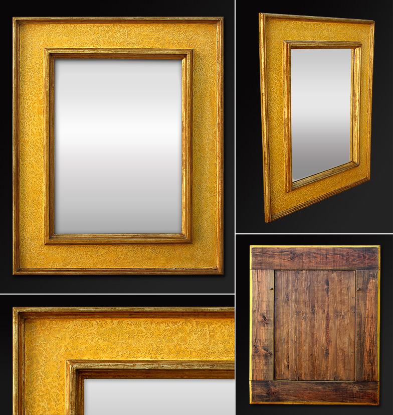italian spiegel rahmen dekoration polychromie. Black Bedroom Furniture Sets. Home Design Ideas